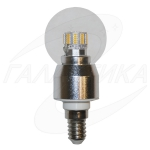 Лампа светодиодная Bonanza LED Lightbulb BC G45.6 E14 6W 2700K 480Lm dim